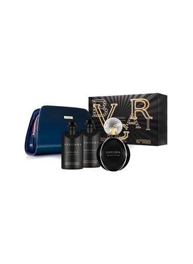 Bvlgari Goldea The Roman Night EDP 75 ML + Body Lotion 75 ML + Shower Gel 75 ML Renksiz